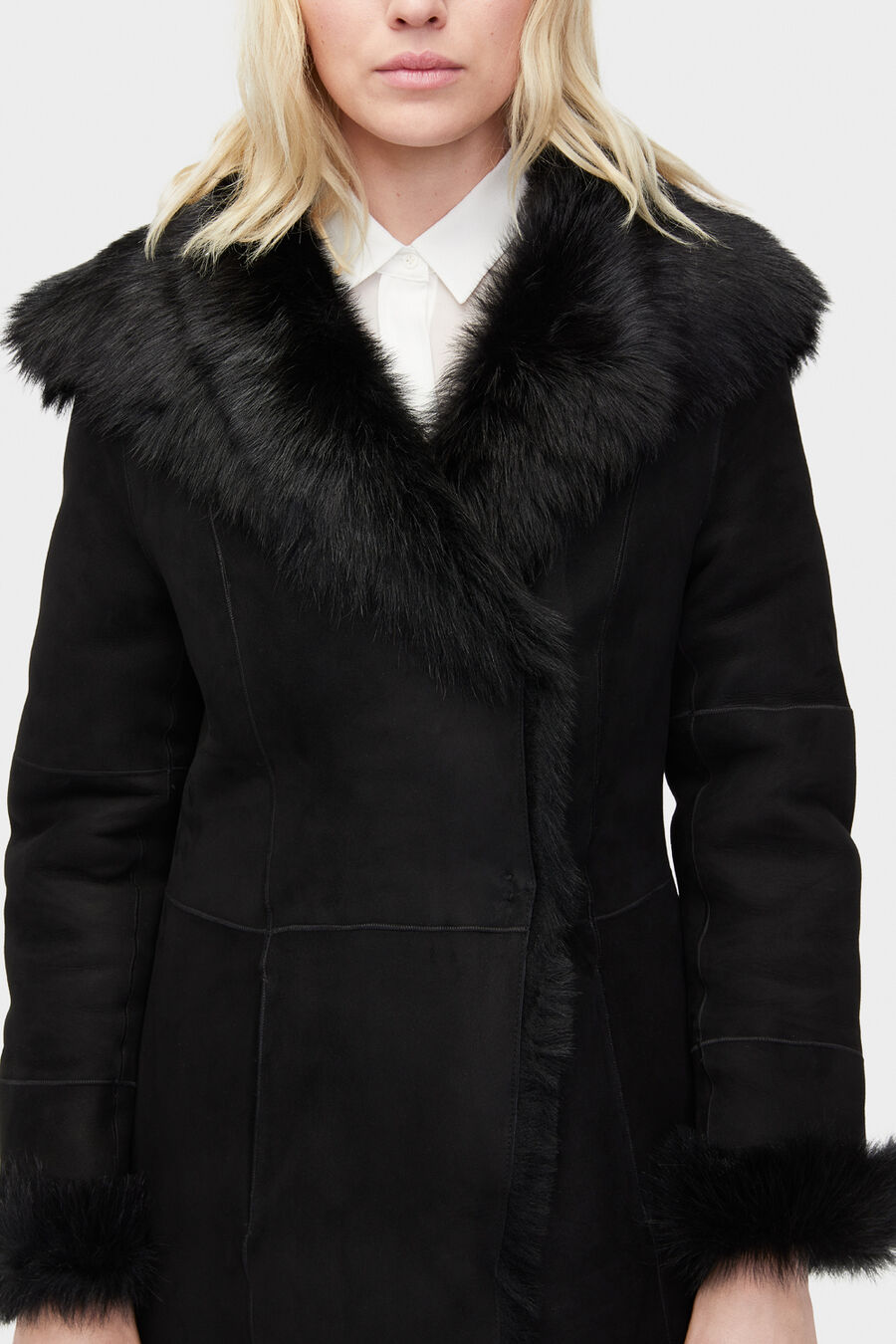 Vanesa Toscana Shearling Coat - Image 5 of 6