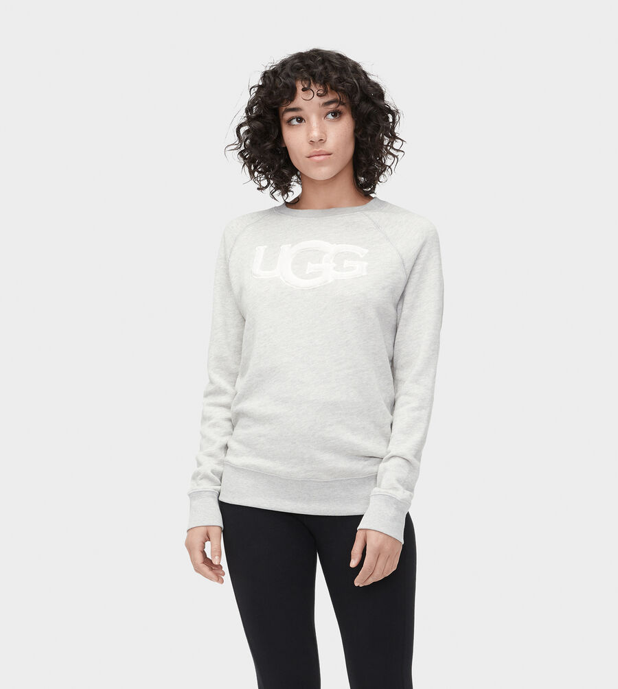 FUZZY LOGO SWEATSHIRT - Image 1 of 4