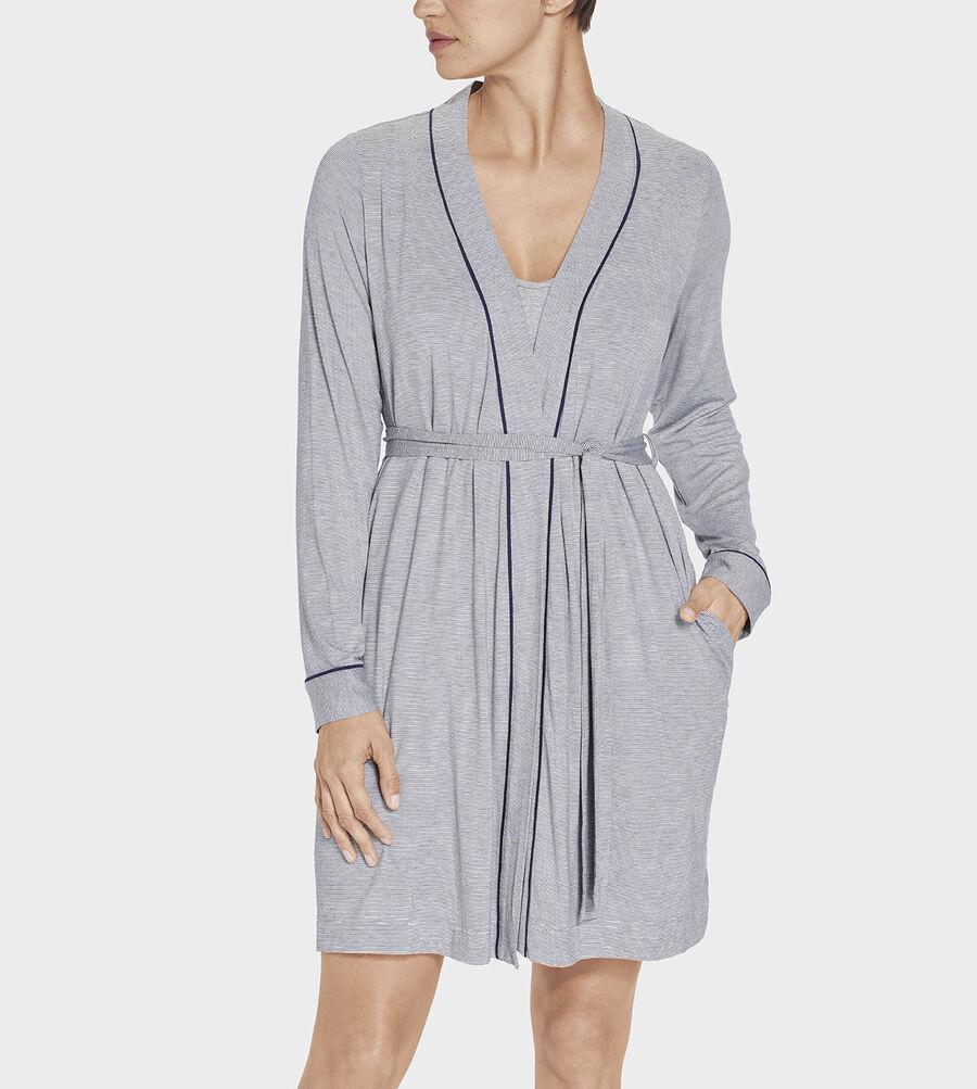Aldridge Mini Stripe Robe - Image 4 of 5