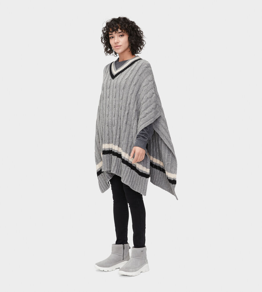 Weslynn Sweater Poncho - Image 1 of 5