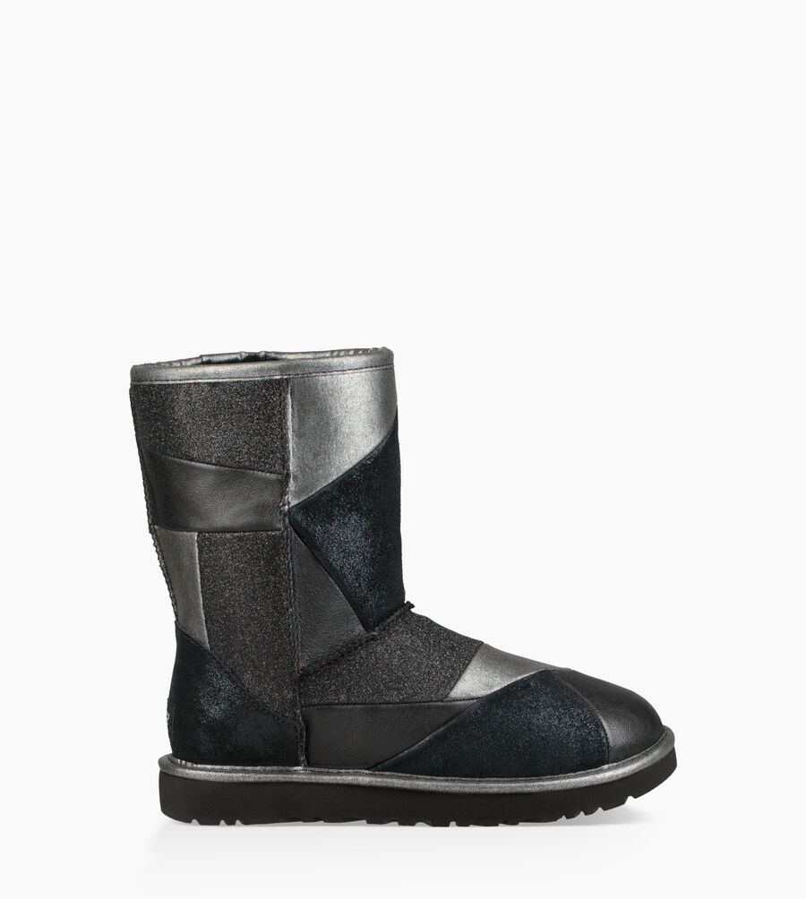 Classic Glitter Patchwork Boot - Image 1 of 6