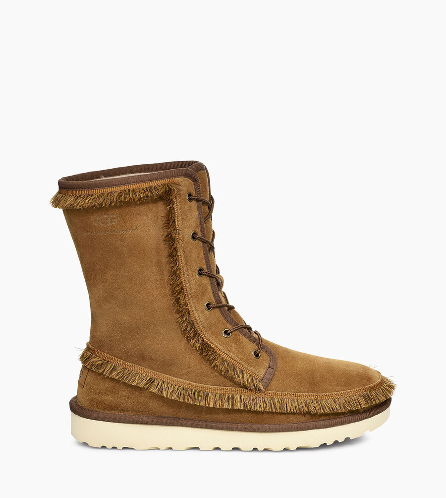 Riki Lace Tall White Mountaineering Boot - Image 1 of 6