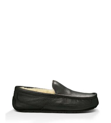 Ascot Leather Slipper