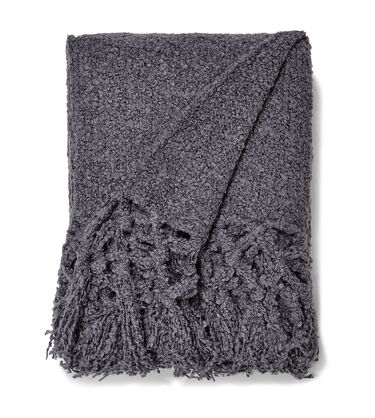 Cliffside Boucle-Knit Throw