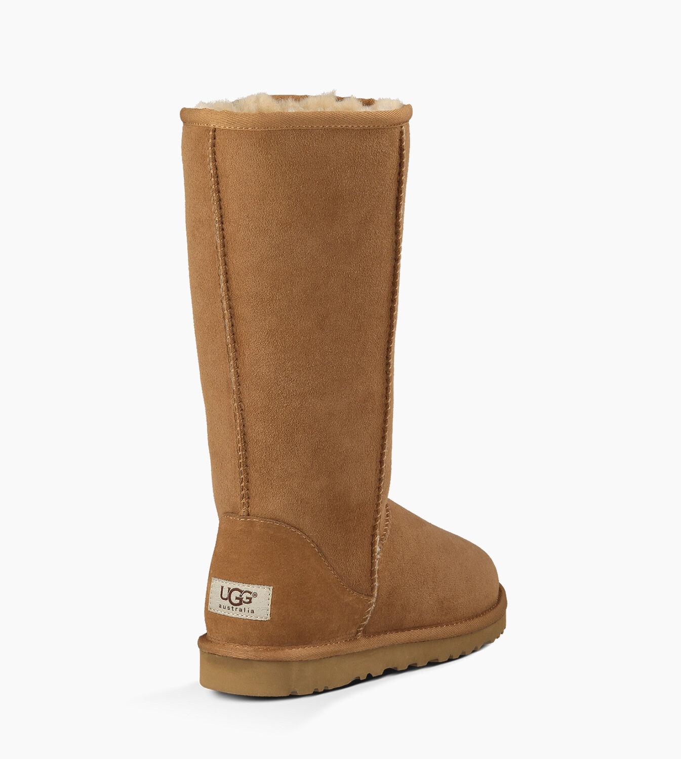 ugg classic tall boots womens black 5815