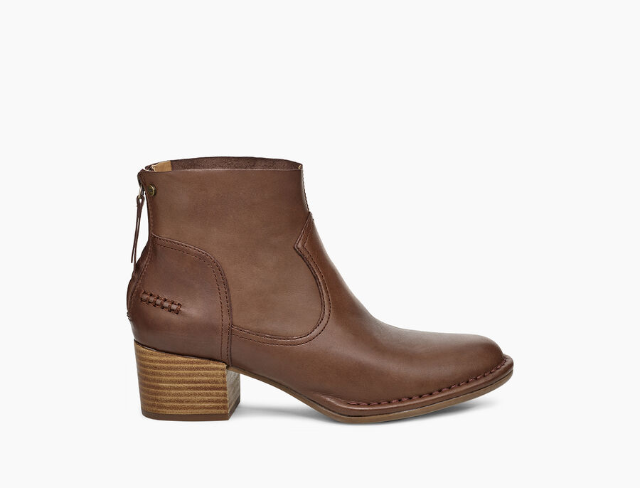 Bandara Ankle Boot Leather - Image 1 of 6