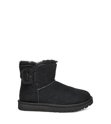 Mini Bailey Fluff Buckle Boot