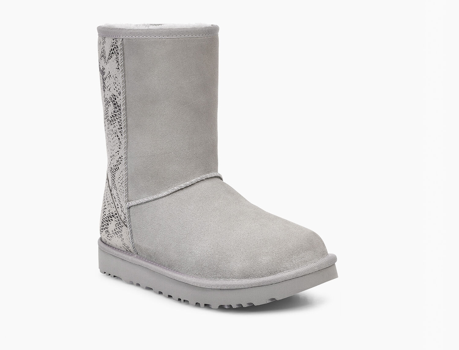 46705918ea0 Women's Share this product Classic Short Metallic Snake Boot