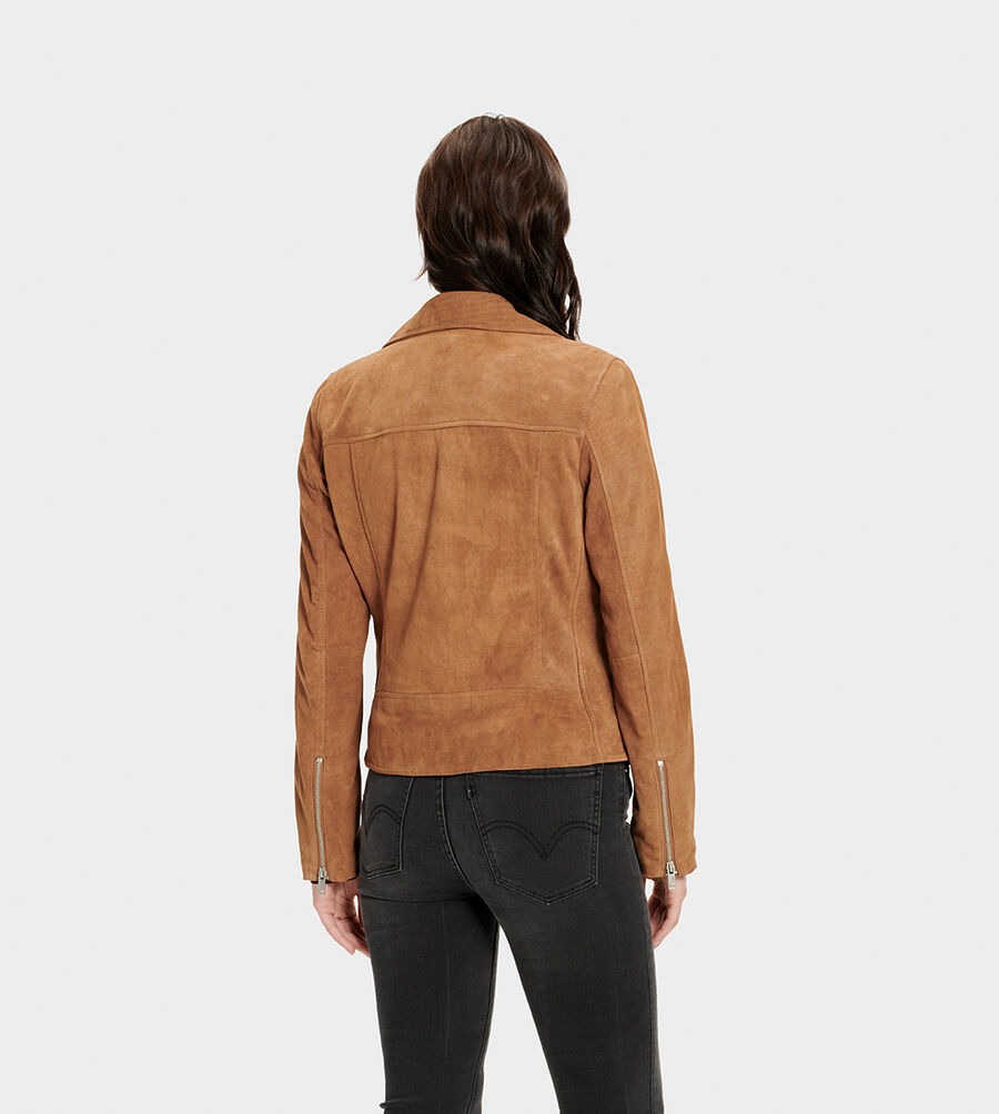 Ronnie Suede Moto Jacket - Image 2 of 6