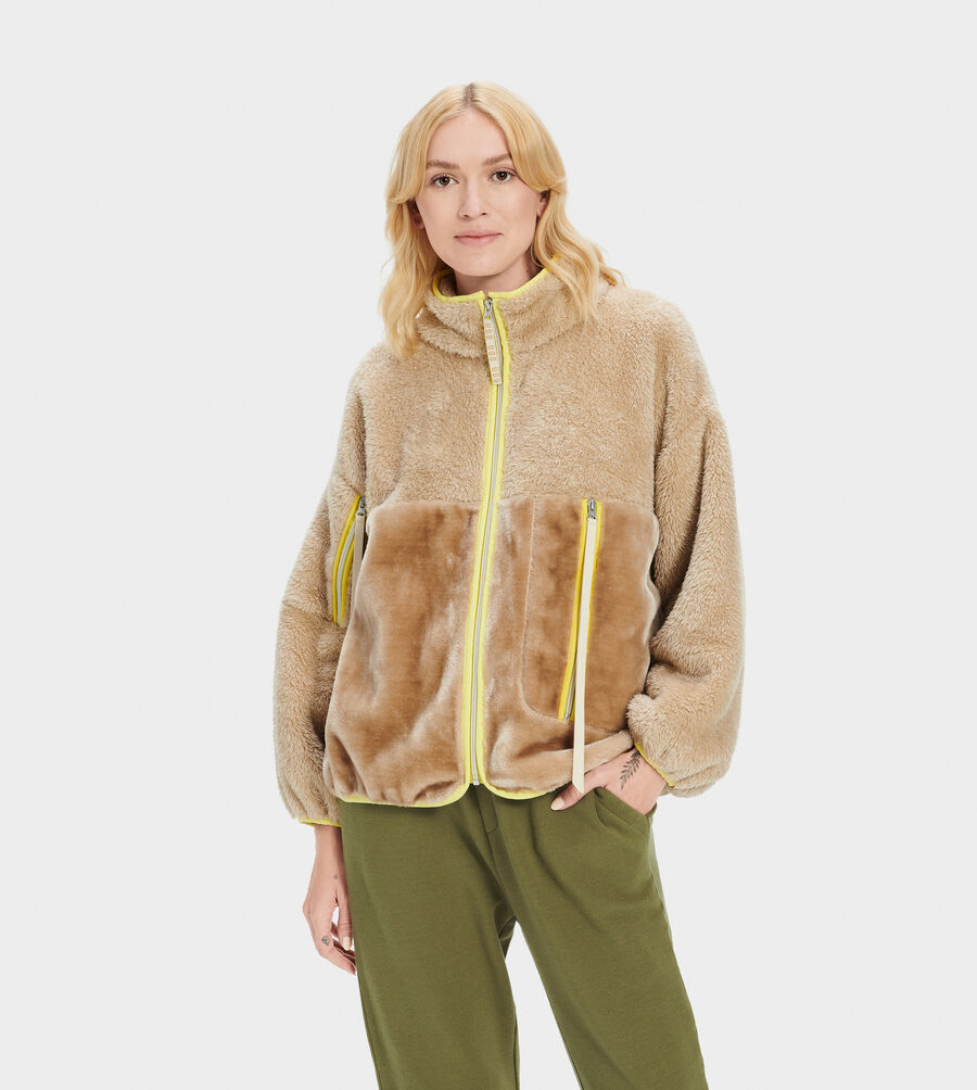 Marlene Sherpa Jacket - Image 2 of 5