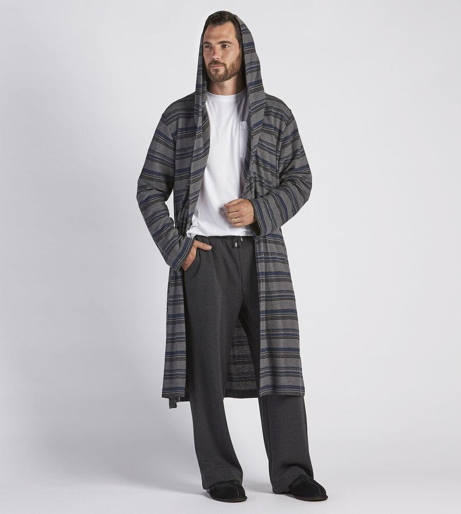 Miles Stripe Robe - Image 4 of 4