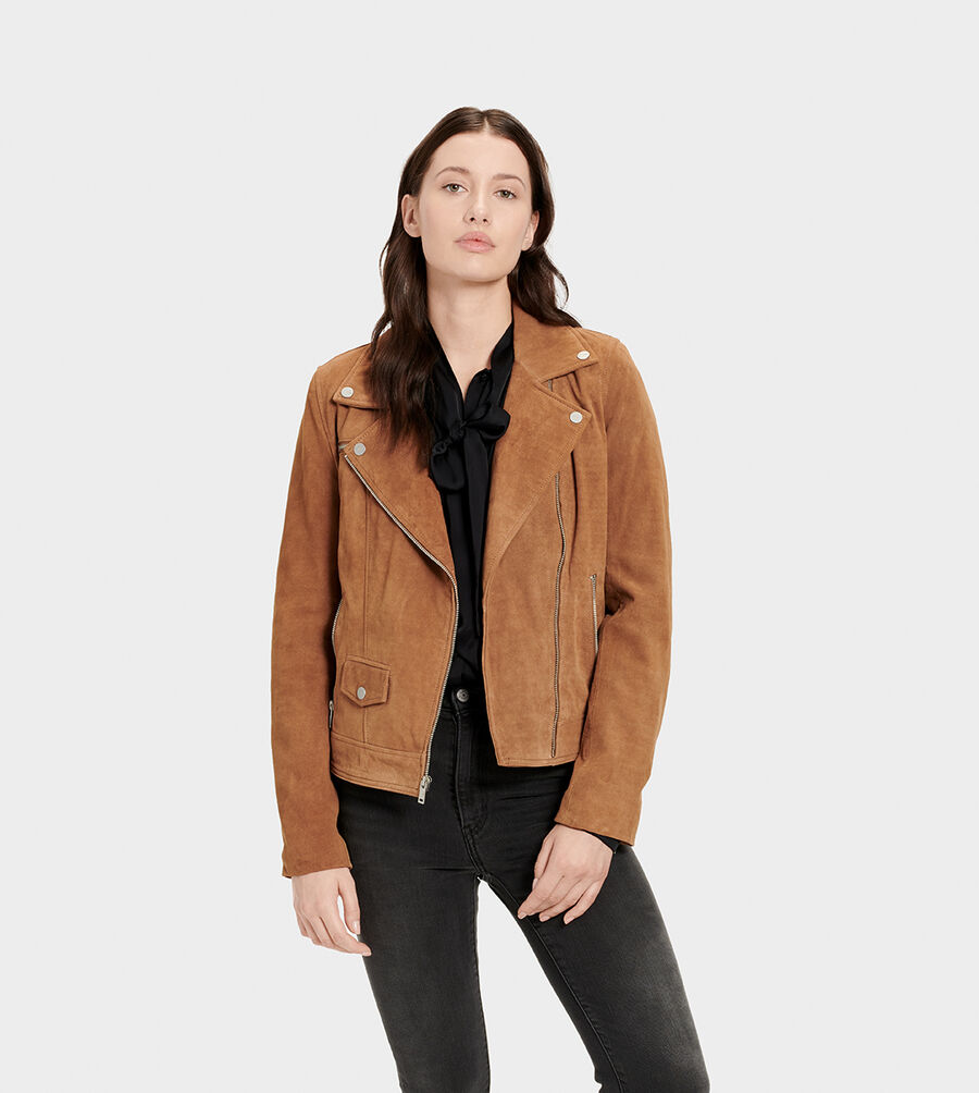 Ronnie Suede Moto Jacket - Image 1 of 6