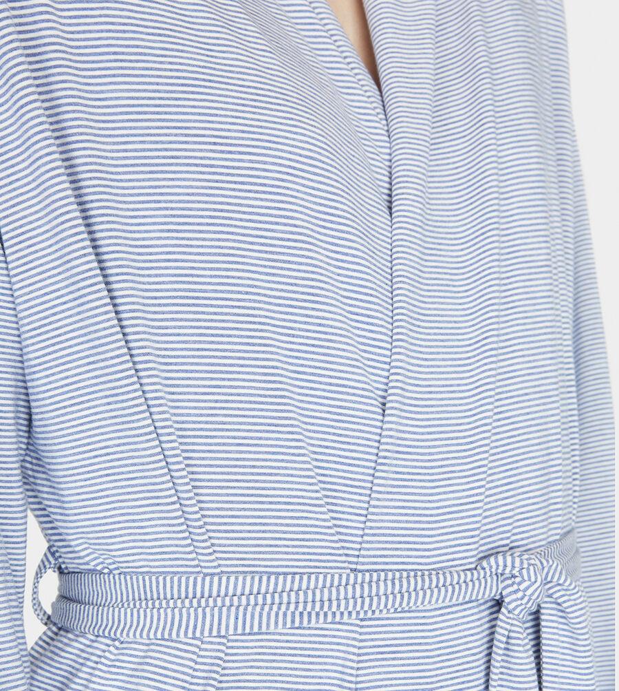 Birgette Mini Stripe Robe - Image 4 of 5