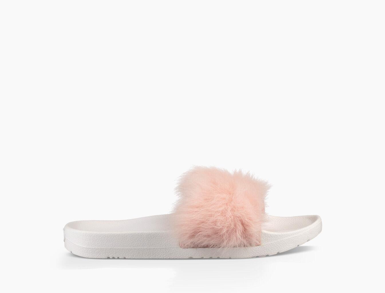 UGG Womens Royale Slide Sandals Bright Pink Zahlen Mit Paypal Günstigem Preis Rabatt Extrem 1FIR9ndkgR
