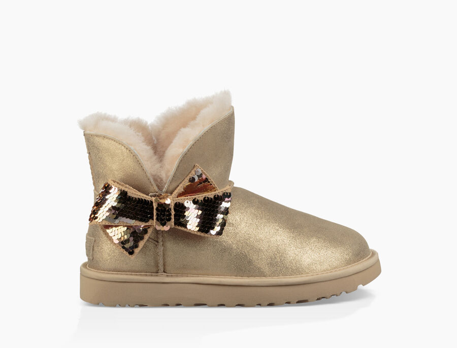 Women's Mini Sequin Bow Boot | UGG® Official