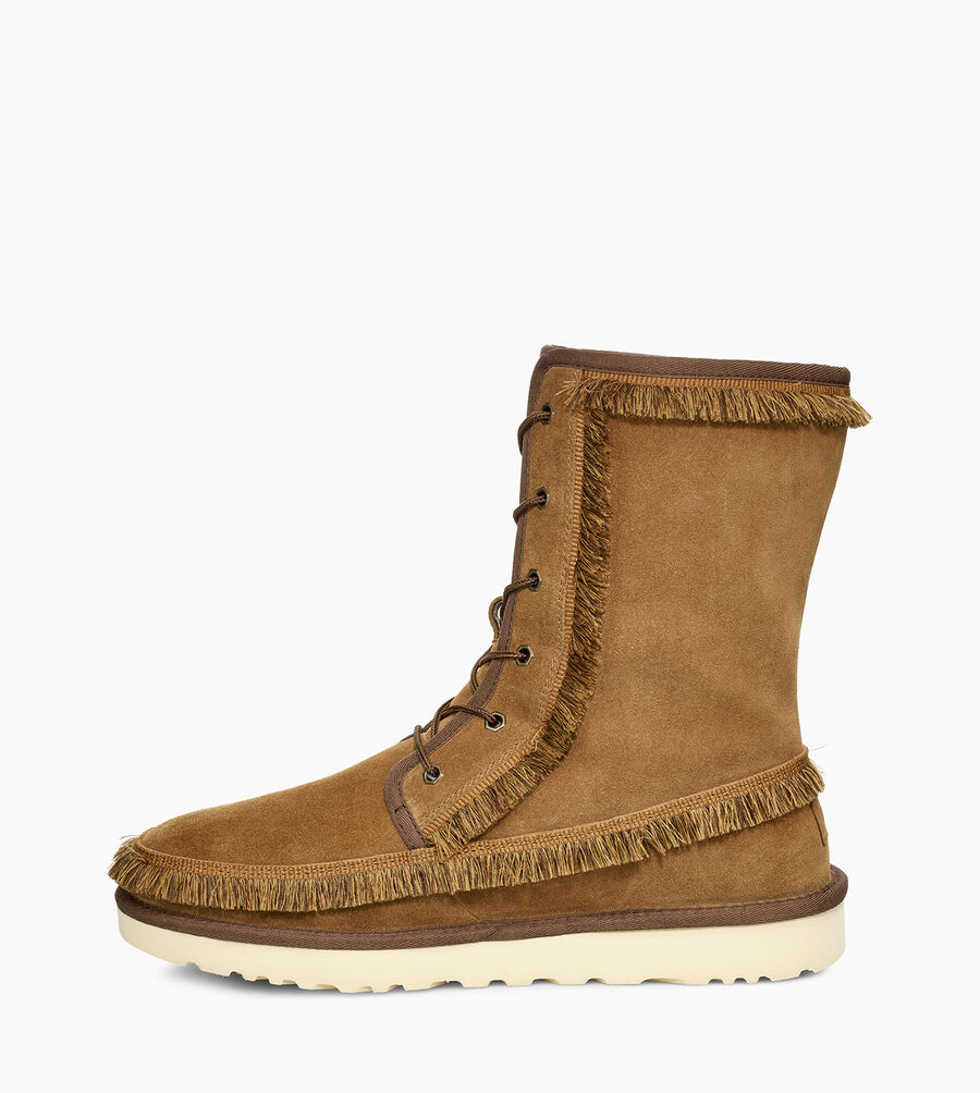 Riki Lace Tall White Mountaineering Boot - Image 3 of 6