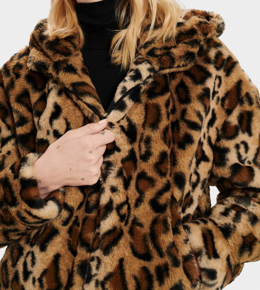Mandy Faux Fur Hoodie - Image 3 of 4