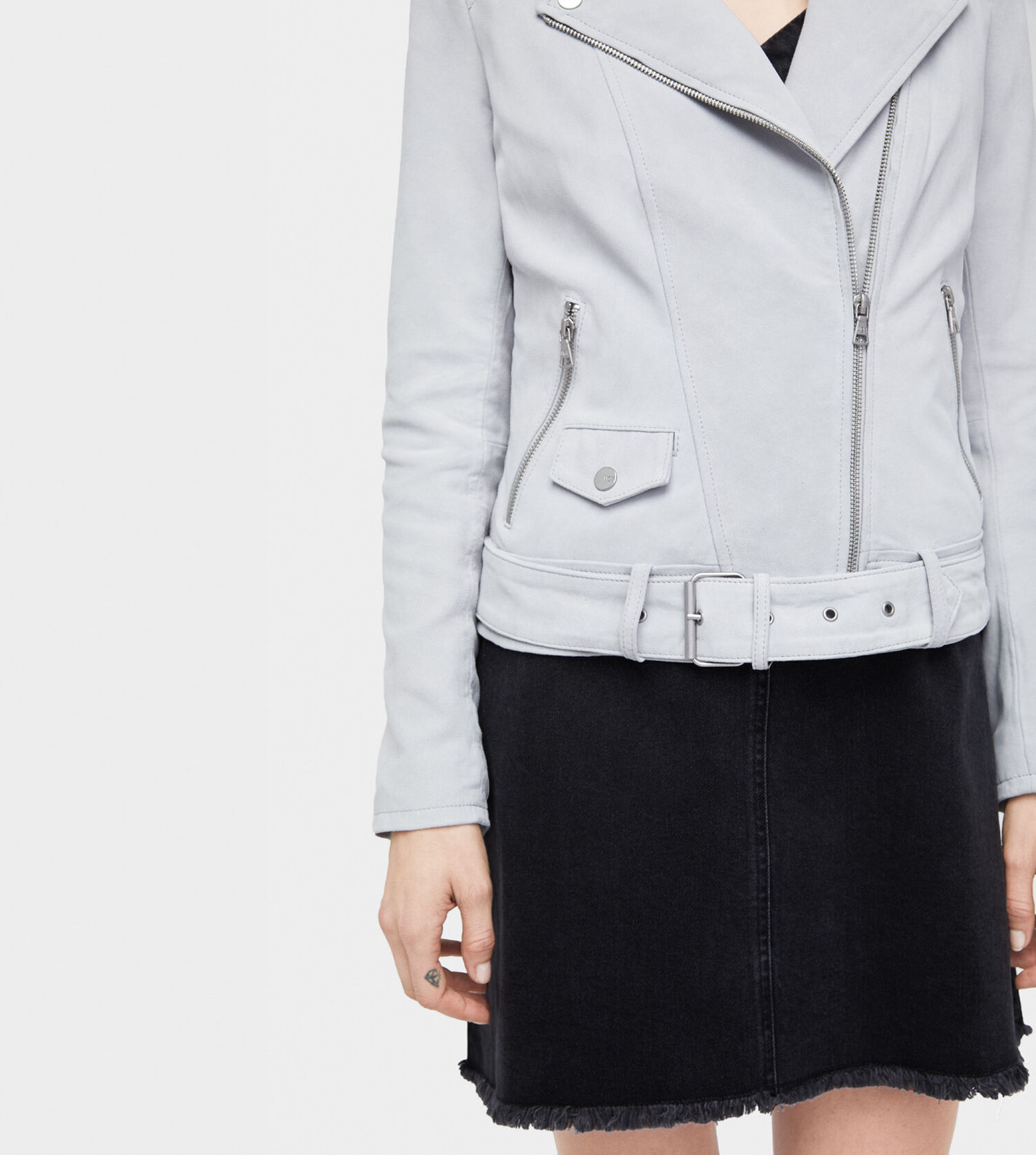 eb2f63bf997 Women's Share this product Stacey Suede Moto Jacket