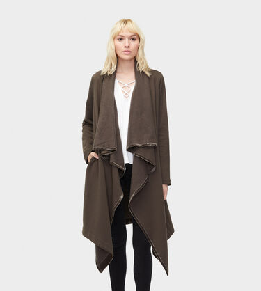 Janni Fleece Blanket Cardigan