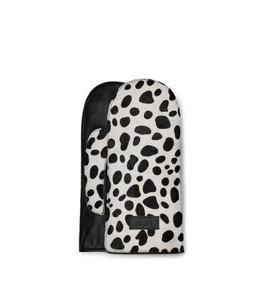 Dalmatian Print Mittens