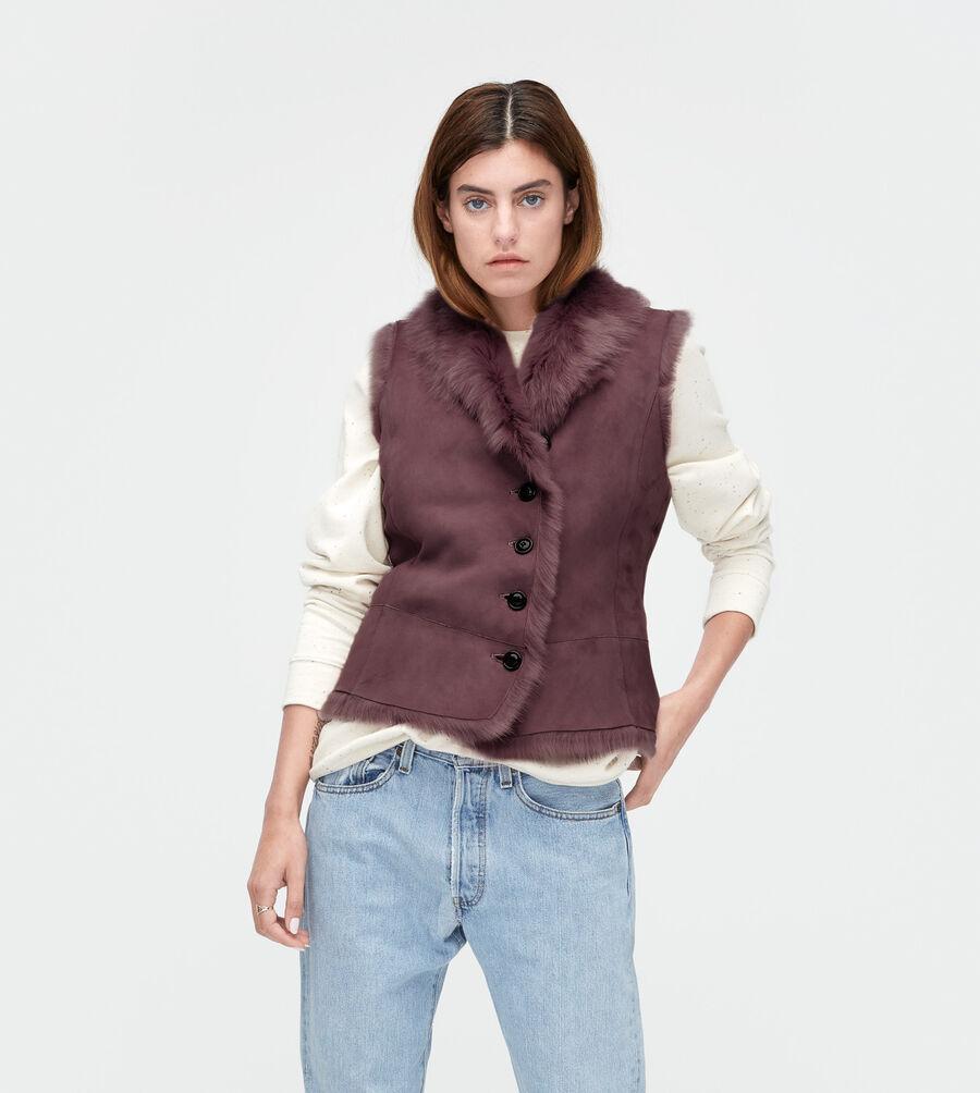 Toscana Shearling Vest - Image 1 of 3