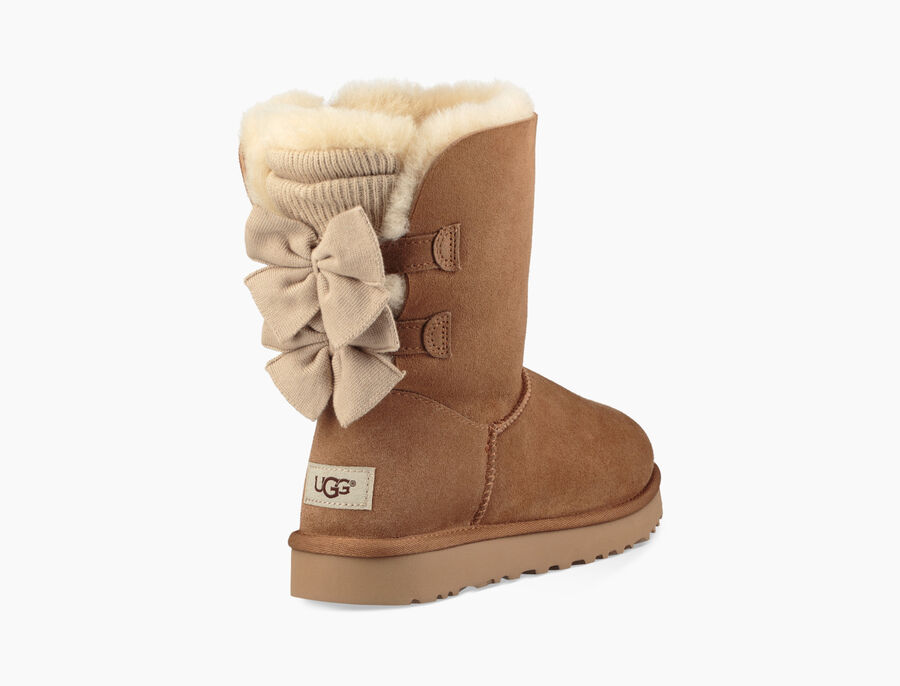 Bailey Bow Short Ruffle Boot - Image 1 of 6