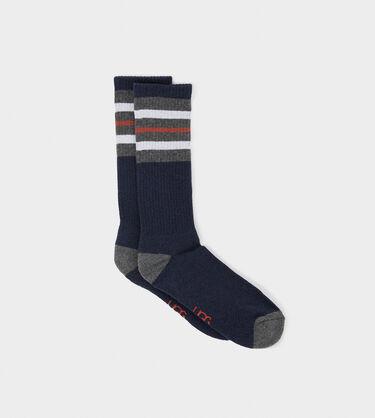 Three Stripe Crew Sock