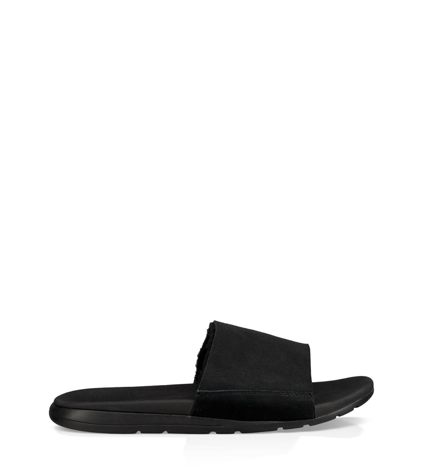 Perfect Mens Casual Shoes - UGG Delroy Black Leather 1