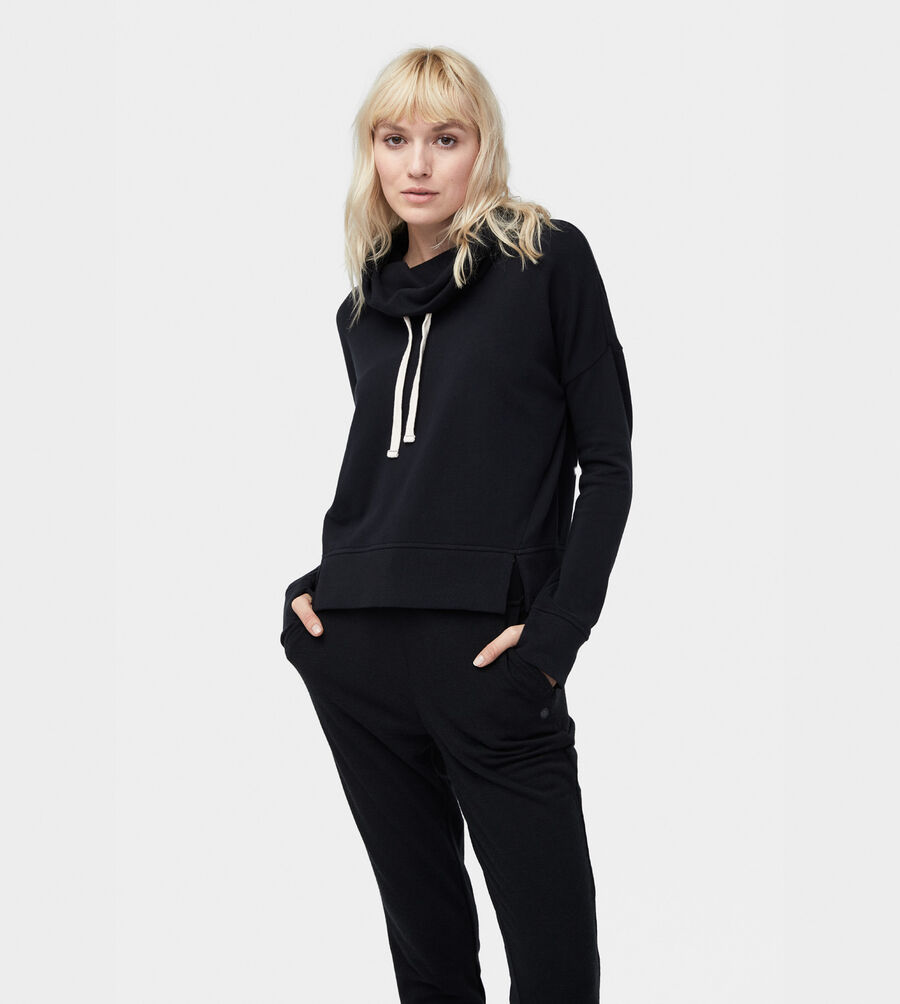 French Terry Miya Funnel Neck - Image 1 of 6