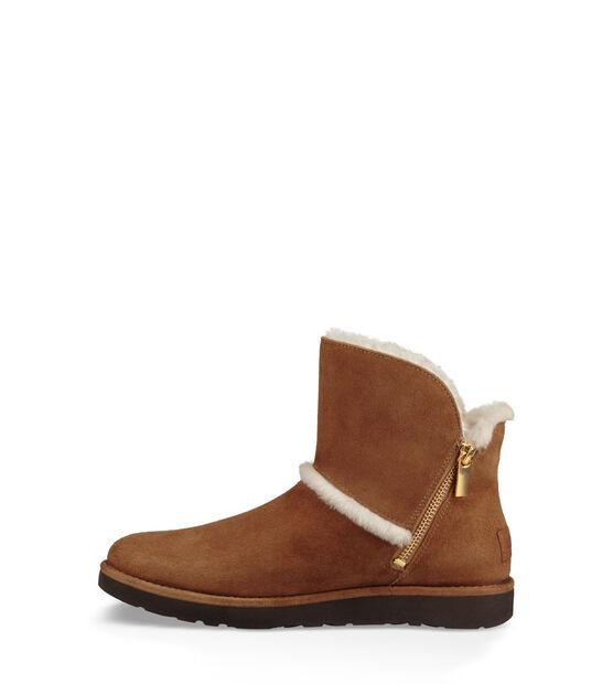Luxe Spill Seam Mini Boot