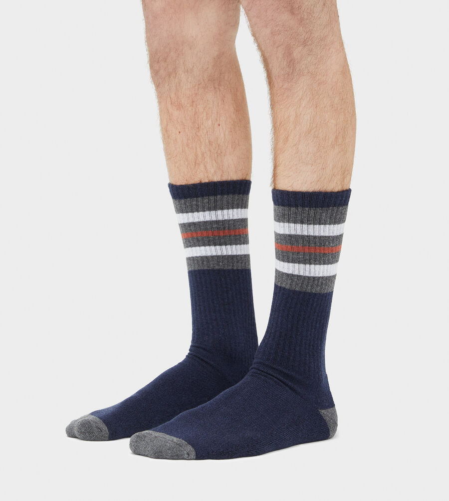 Three Stripe Crew Sock - Image 3 of 3