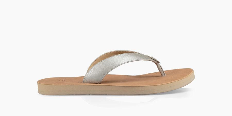 Tawney Metallic Sandal | Tuggl
