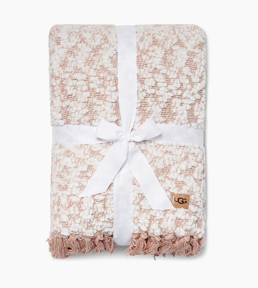 Amita Boucle-Knit Throw - Image 2 of 3