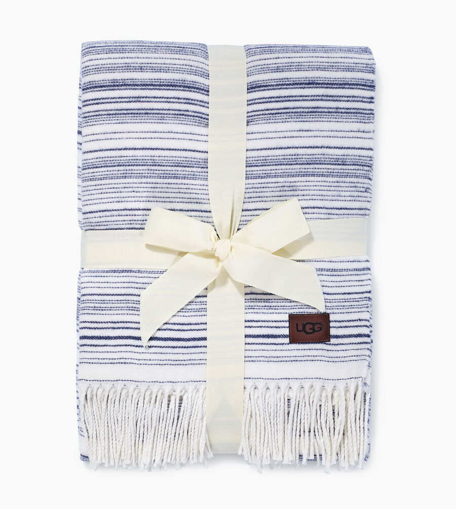 Driftwood Stripe Throw - Image 2 of 3