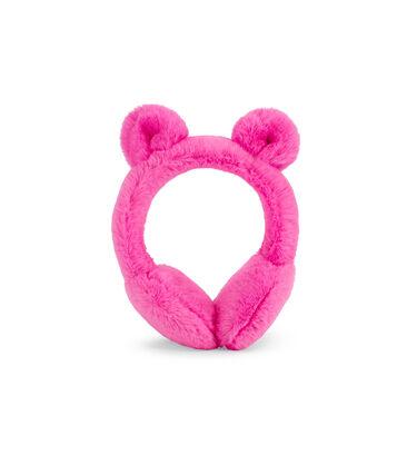Faux Fur Earmuff With Ears
