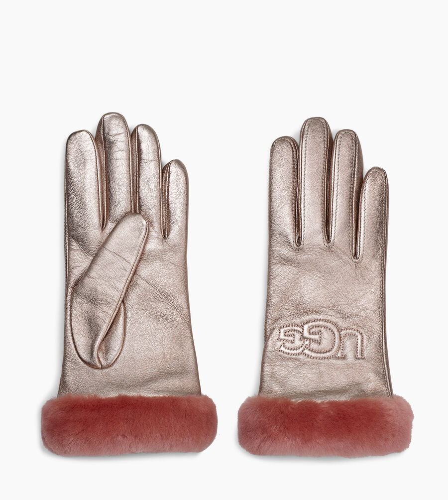 Classic Leather Logo Glove - Image 2 of 3