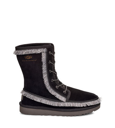 Riki Lace Tall White Mountaineering Boot