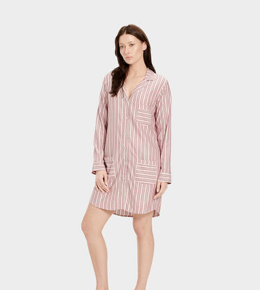 Laura Sleep Dress Stripe