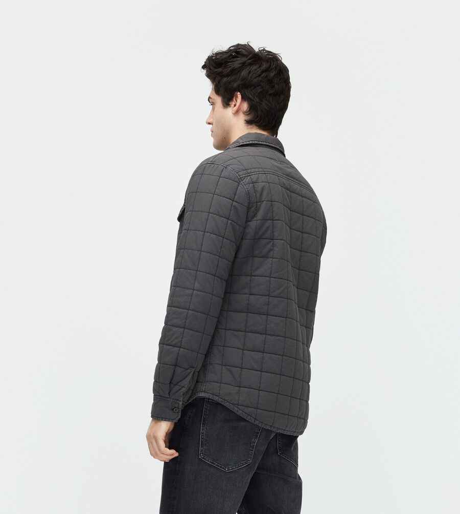 Trent Quilted Shirt Jacket - Image 3 of 5