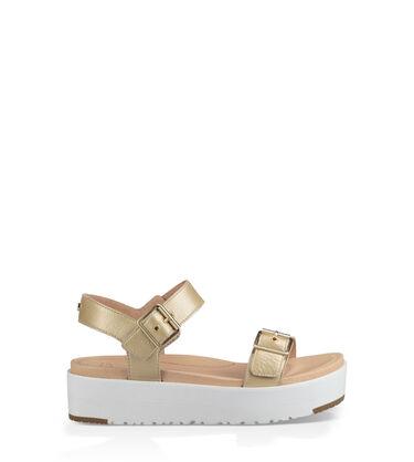 Angie Metallic Sandal