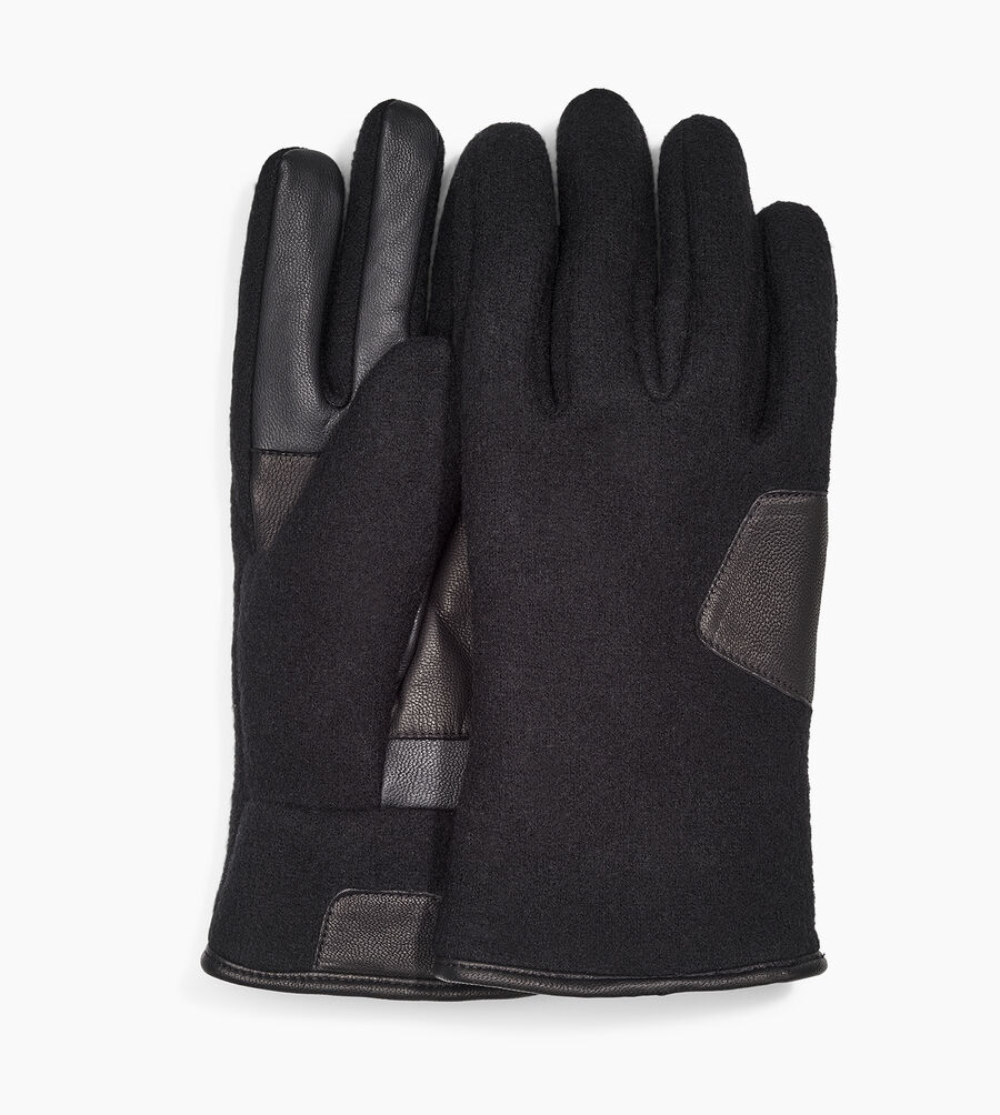 Fabric And Leather Glove - Image 1 of 3