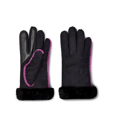 Shearling Ugg Embroidery Glove Alternative View