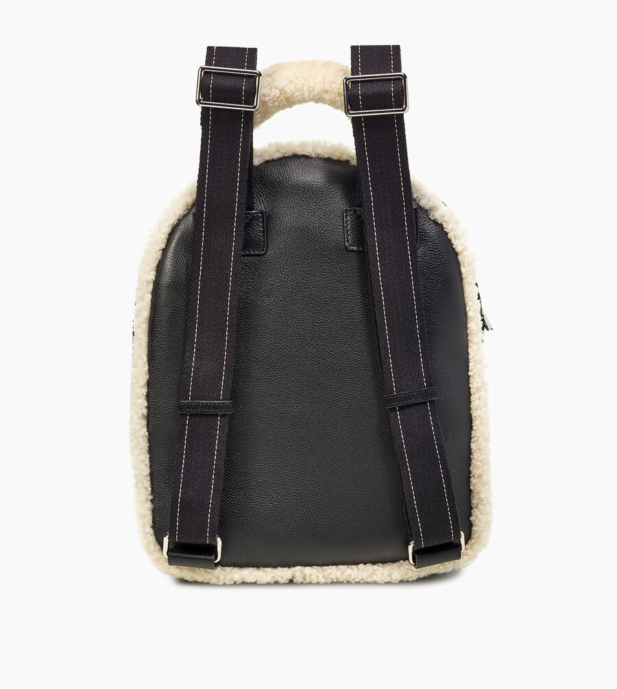 Dannie Sheepskin Backpack - Image 3 of 5