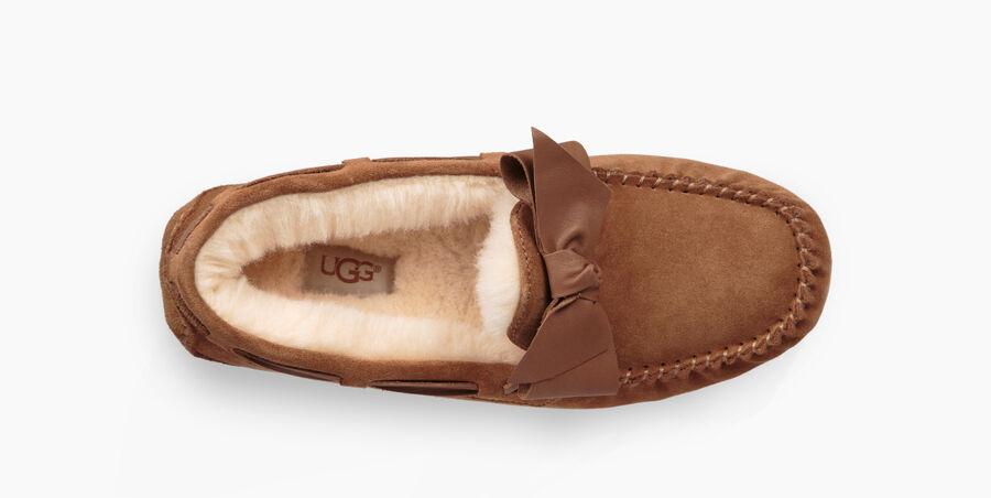 Dakota Leather Bow Slipper - Image 5 of 6