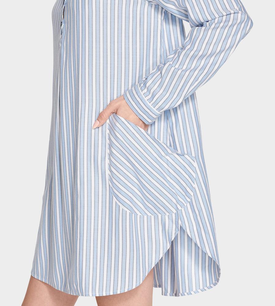 Gabri Stripe Sleep Dress - Image 1 of 5