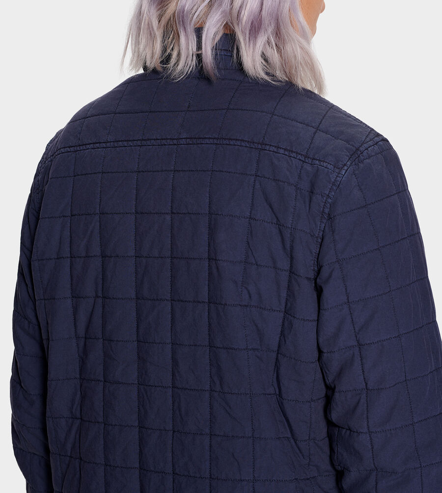 Trent Quilted Shirt Jacket - Image 4 of 6