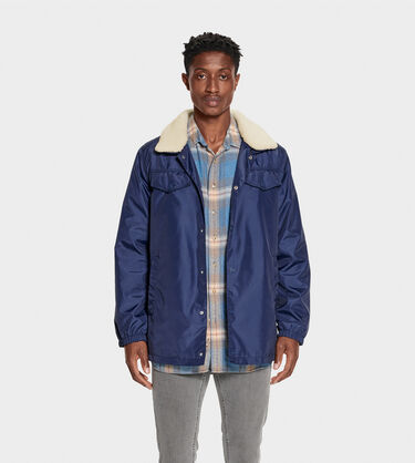 Keagan Nylon Trucker Jacket