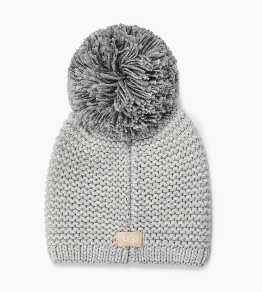 Chunky Knit Beanie with Pom - Image 2 of 2