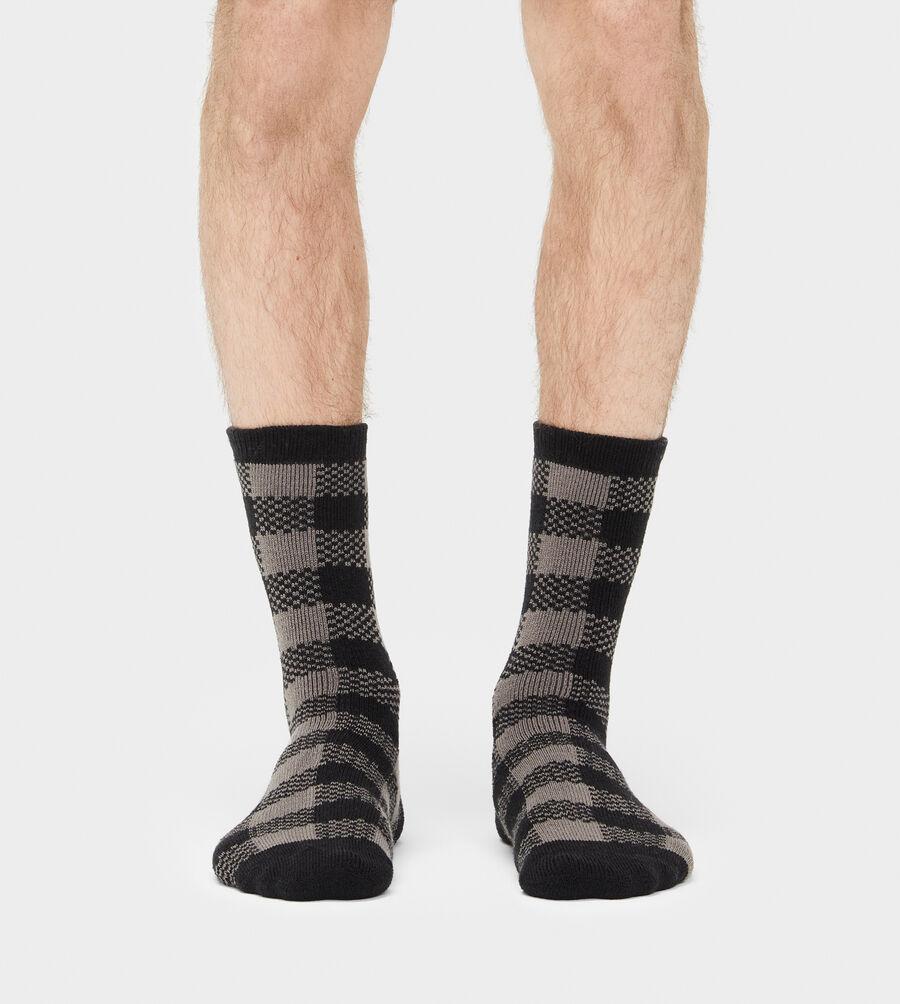 Randall Check Crew Sock - Image 2 of 3