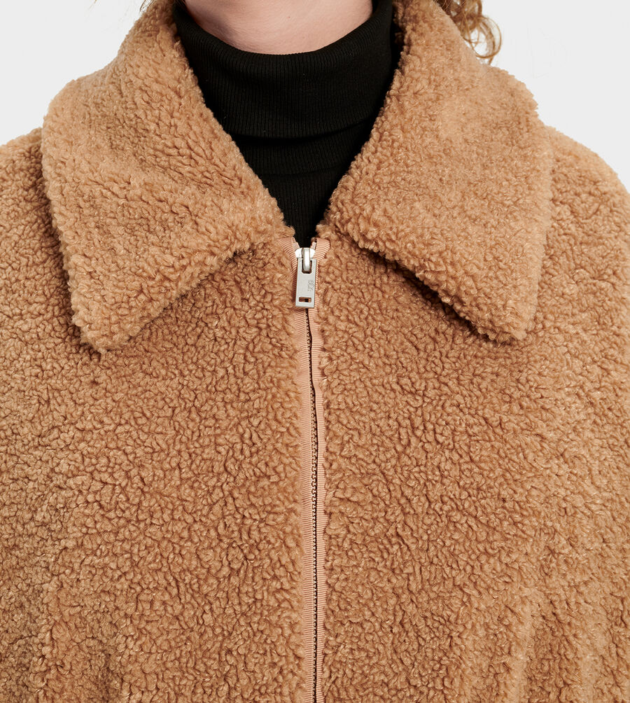 Jackeline Teddy Bear Jacket - Image 5 of 6
